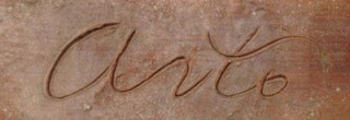 Founder Arto Alajian's signature in clay