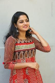 Telugu Actress Nikhila Vimal Latest Stills in Anarkali Dress  0046.JPG