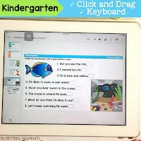 Digital ELA Activities for Kindergarten for the Full Year