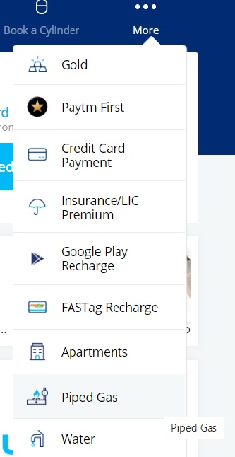 paytm gas bill payment