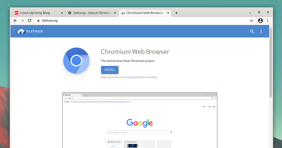 Chromium Web Browsers for Windows and Mac Users