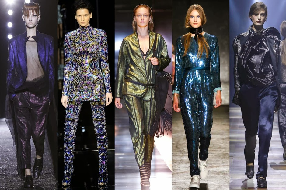 Disco Glam: Haider Ackermann, Tom Ford, Gucci, Marc by Marc Jacobs, Lanvin