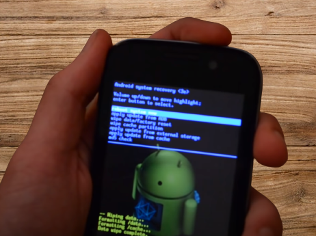 how to reset your android phone