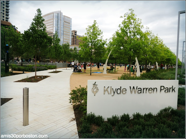 Klyde Warren Park en Dallas