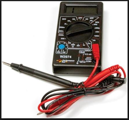 Langkah Cara Menggunakan Multitester Digital untuk Mengukur Tegangan AC dan DC