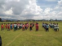 Peduli sepak bola pemdes Ngampel adakan sepakbola persahabatan antar klub usia dini