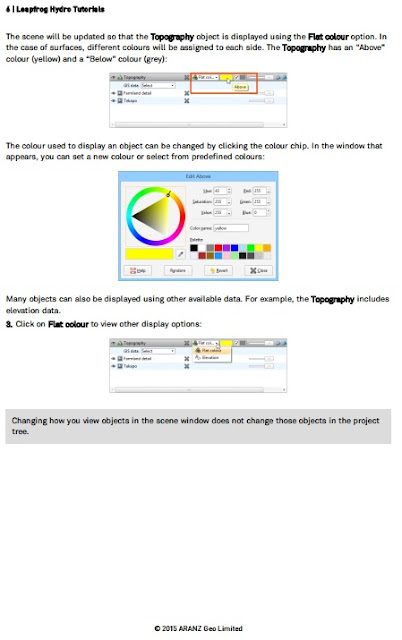 Tutorial Leapfrog Hydro.v2.6 Lengkap Data Pandua
