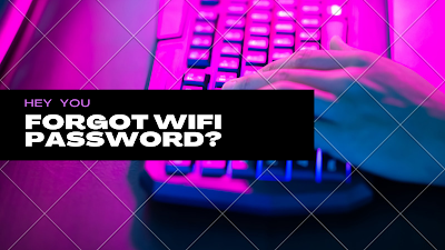 How to know your system WIFI password ..?