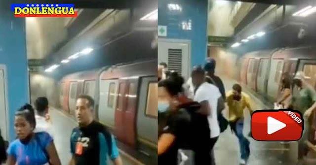 Se registro una Mega-Explosión del Metro de Caracas en Los Dos Caminos