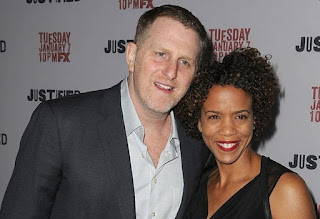 Kebe Dunn with her celebrity husband Michael Rapaport