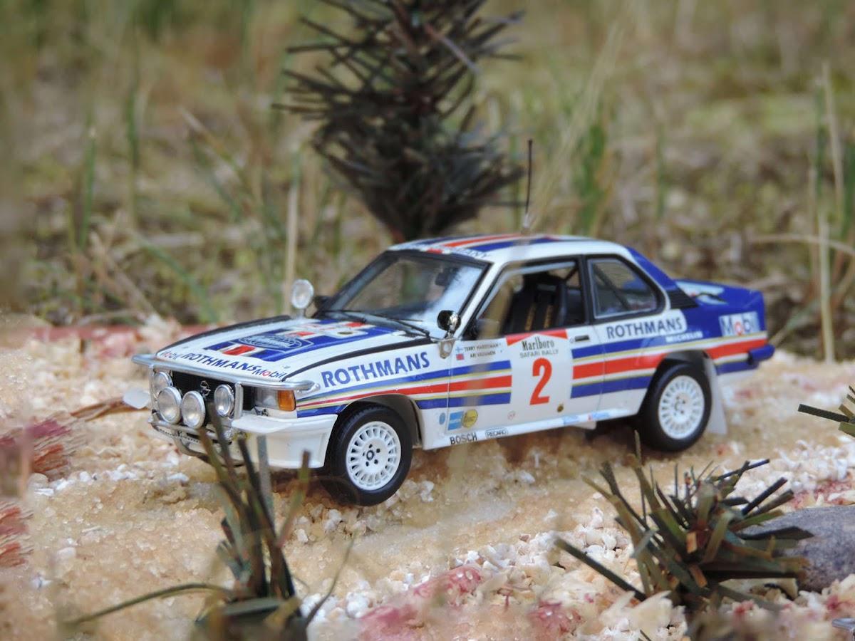 Schuco Opel Ascona B 400, Zwycięzca Rajdu Safari 1983