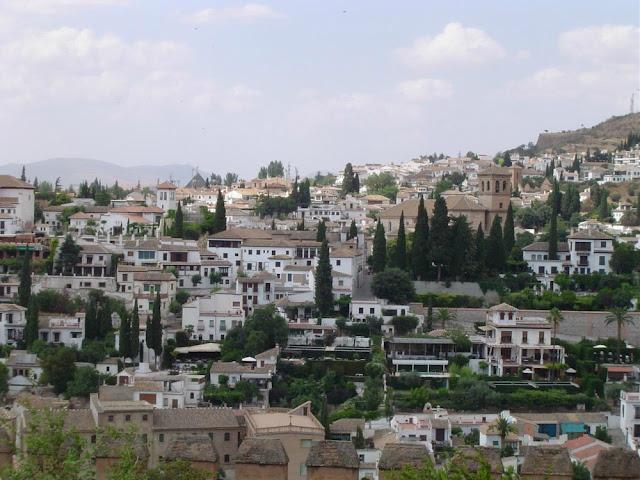Albaicín visto da Alhambra - o que ver e fazer em Granada