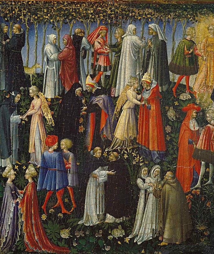Paraíso, Giovanni di Paolo (Siena, 1403 — Siena, 1482)