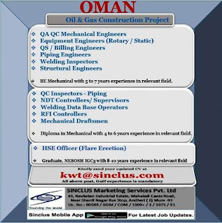 Oman Oil and Gas Construction Project