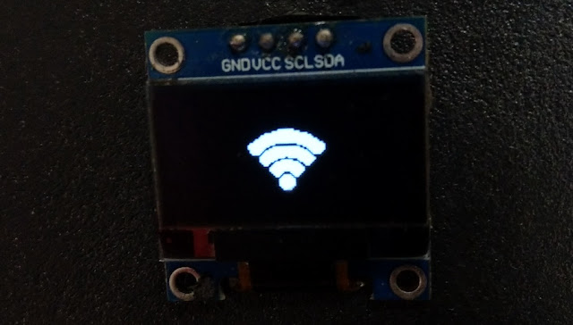 create icon bitmap for OLED display SSD1306