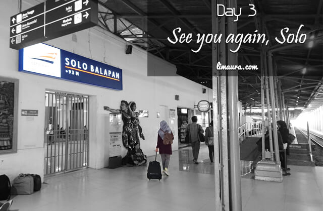 Day 3 - See You Again, Solo
