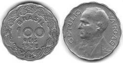 100 Réis, Getúlio Vargas 1938