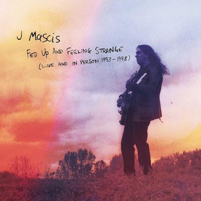 Noticia. La cd-box de J Mascis con 3 conciertos entre 1993 y 1998 se titula 'Fed up and feeling strange'