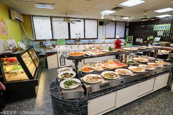 清心緣蔬食坊|彰化素食吃到飽|上百道創意料理|天然養生食材|附停車場