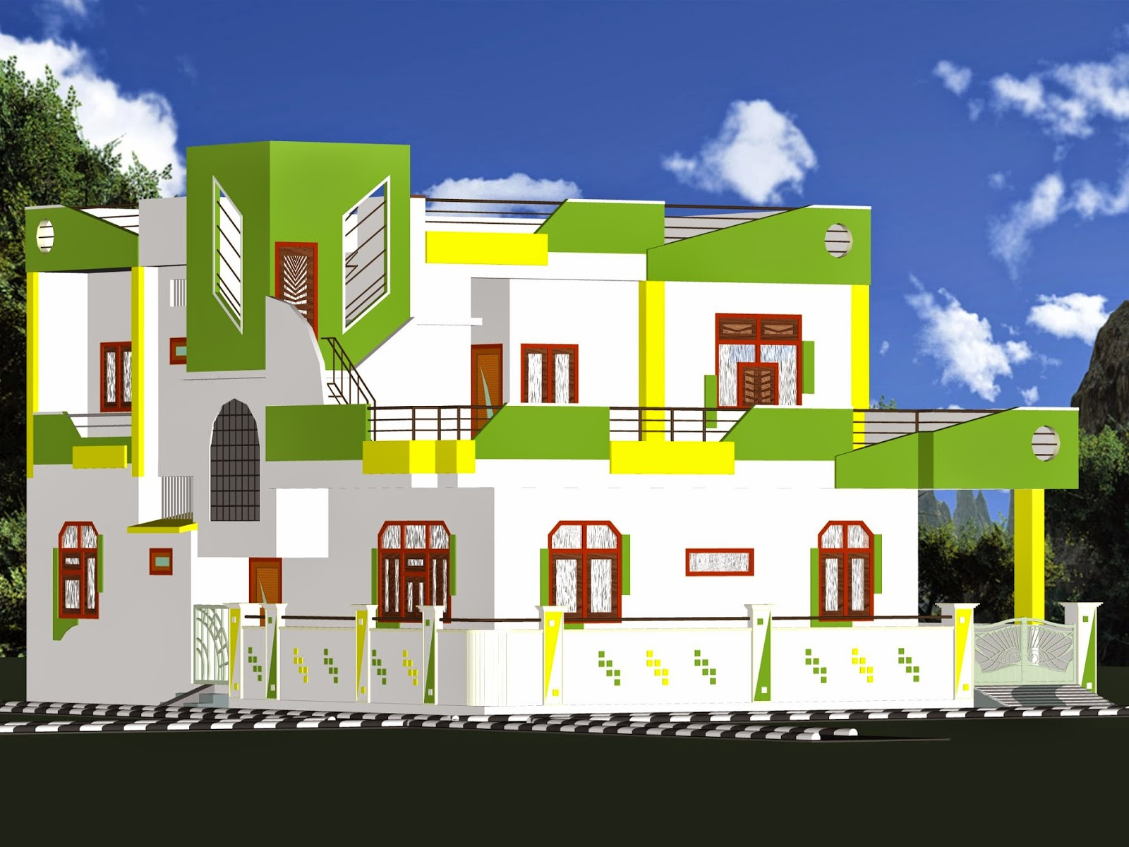 Free House Architecture Design In India | Design For Home