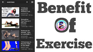 Benefit Of Exercise