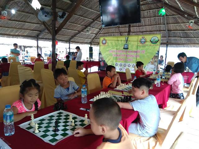 Khai giảng lớp cờ vua cho thiếu nhi tại quận 10, quận 11 TpHCM