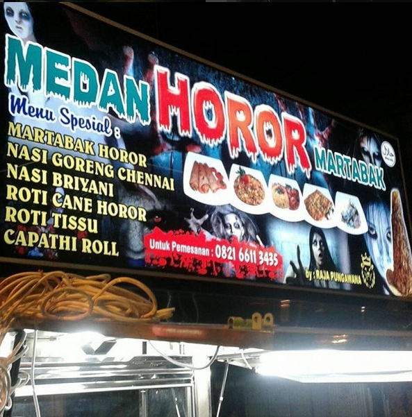 Martabak Horor : Kuliner Seram di Medan