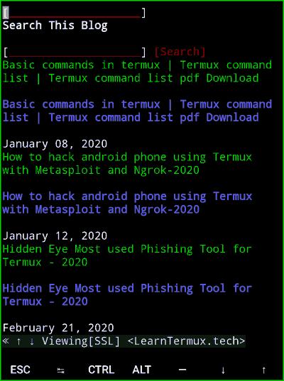 Termux Secret Commands