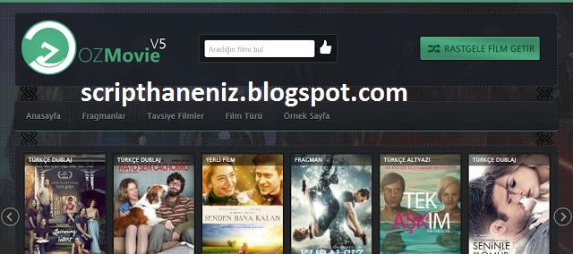 OzMovie V5 Ücretsiz  WordPress Film Teması İndir 2017