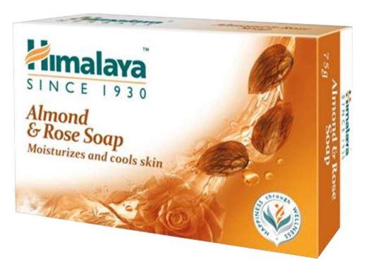 Himalaya Herbals Moisturizing Almond and Rose Soap