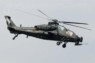 Helikopter Serang Z-10 Buatan China