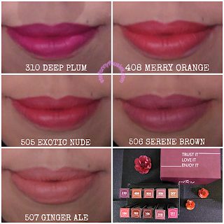 Lipstick-pixy-matte-in-love-swacth-bibir