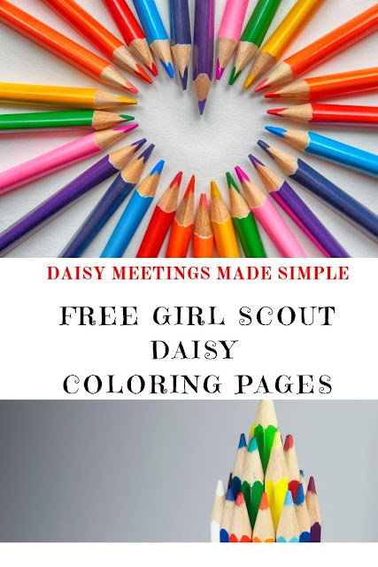 Free Girl Scout Daisy Coloring Pages