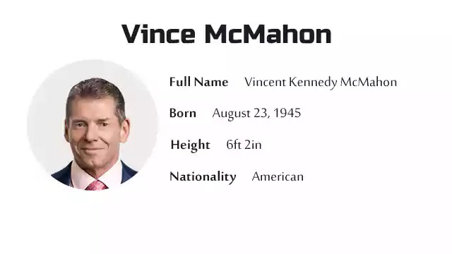 Vince McMahon Biography History Net Worth And More