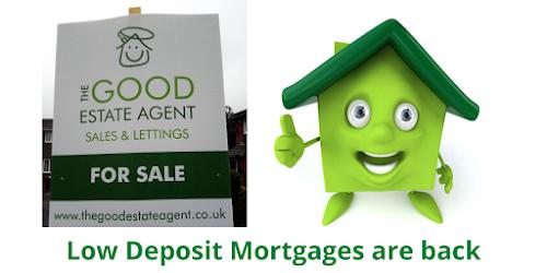 Low Deposit Mortgages Return