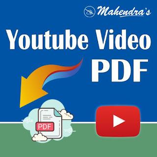Video- PDFs: 03-12-19