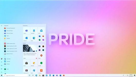 start menu baru windows 10