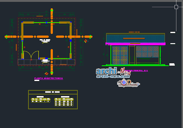 House of Power in AutoCAD