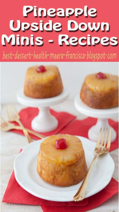 Pineapple Upside Down Minis - Recipes