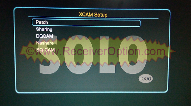 SOLO 1000 1507G 8MB HD RECEIVER NEW SOFTWARE WITH FREE IPTV
