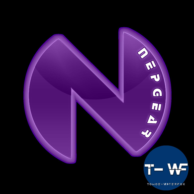 Planeptune Nepgear logo render by T-WF