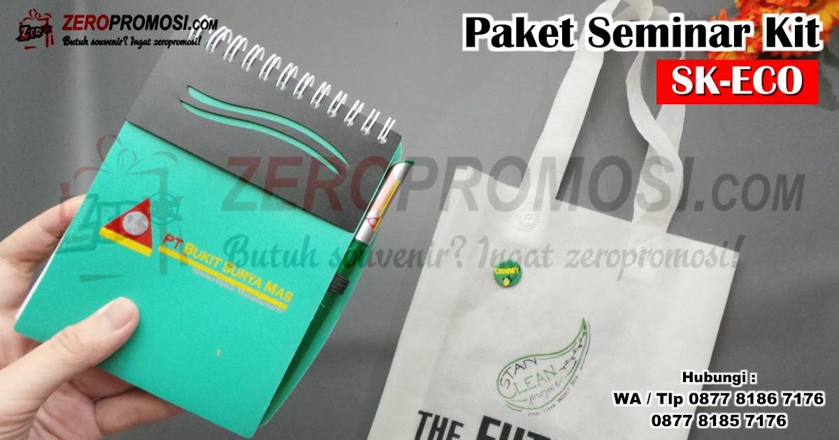Produksi Souvenir Promosi Paket Seminar Kit SK-ECO Murah