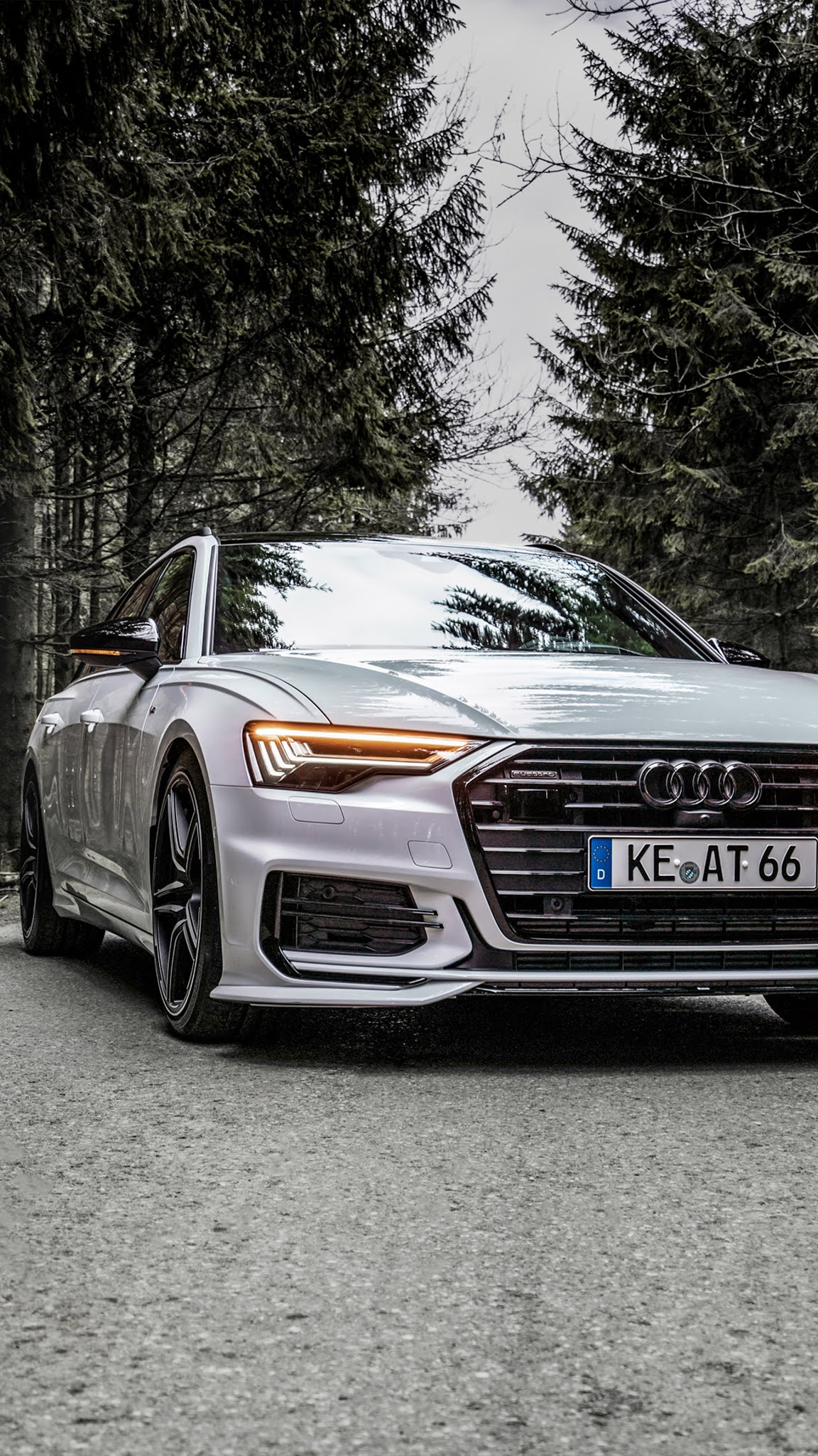 Abt Audi A6 TDI Avant 2019 Mobile Wallpaper