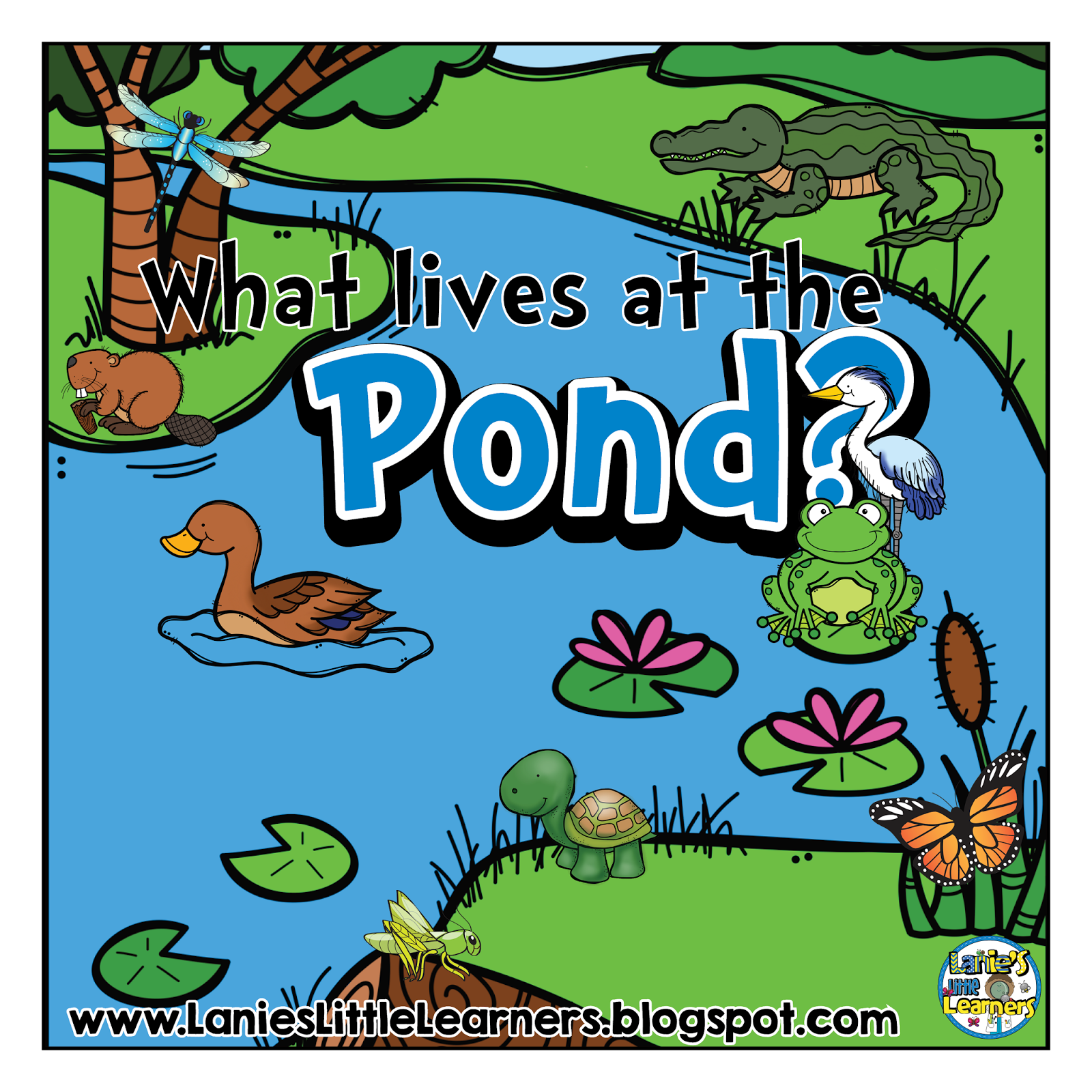 Lanie S Little Learners What Lives At The Pond