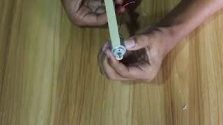 Pesawat mainan sederhana dari Stik Es krim
