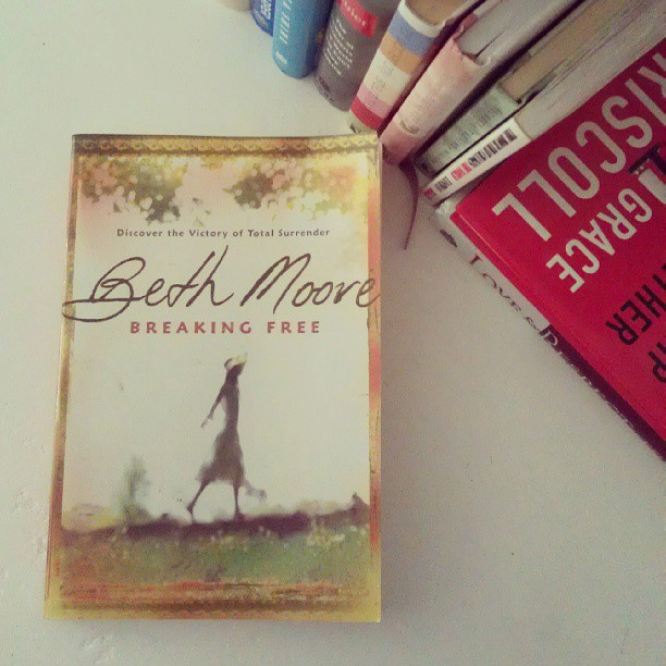 Breaking Free by Beth Moore // Dealing with depression and a toxic thought life.