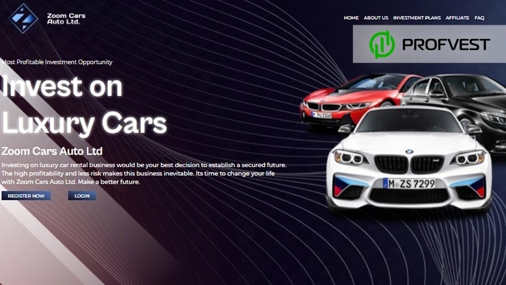 Zoom Cars Auto обзор и отзывы проекта