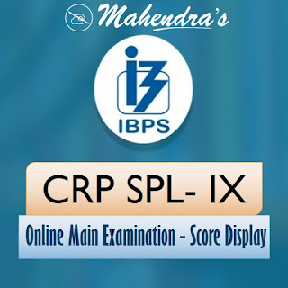IBPS SO Mains Score Card 2019-20 Released