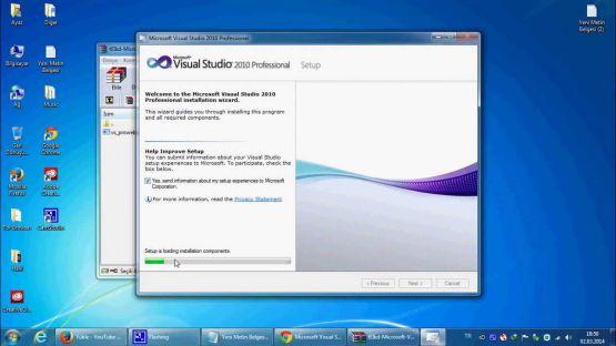 Visual Studio 2010 screenshot 4