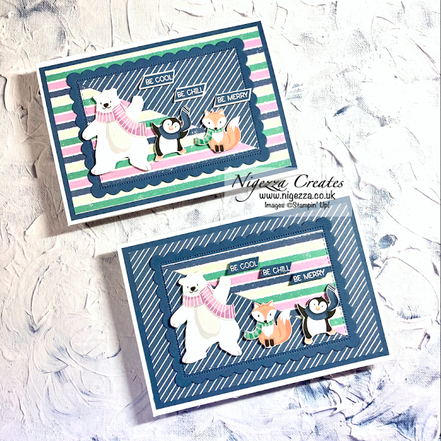 Penguin Playmates Christmas Cards